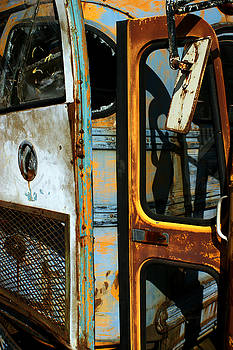 Old Bus Doors by Off The Beaten Path Photography - Andrew Alexander