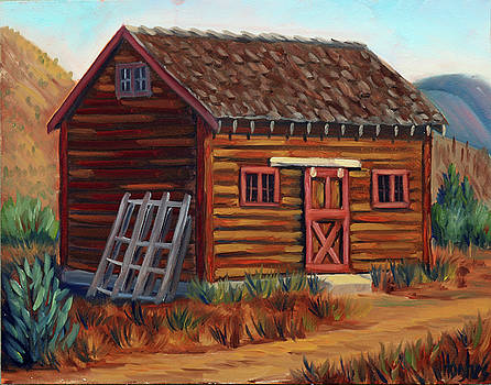 Old Cabin by Kevin Hughes