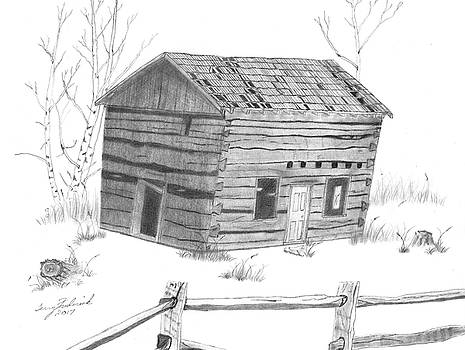 Old Cabin by Terry Frederick