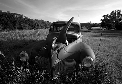 Old Car and Barn by Stephen Mack