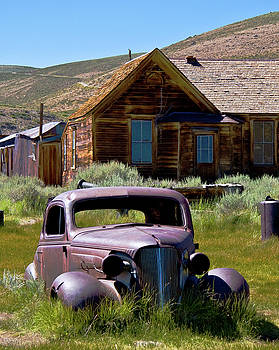 Old Car at Bodie 1 by Chris Brannen
