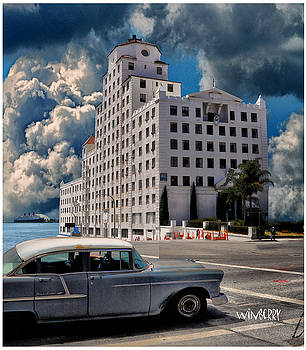 Old Car in Long Beach by Bob Winberry
