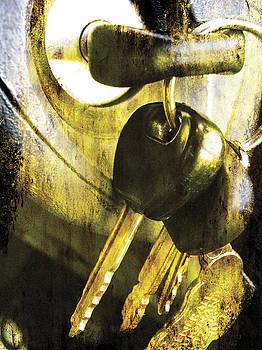 Old car keys by Guy Jean Genevier