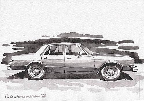 Old car by Rimzil Galimzyanov