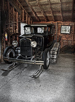 Old Car Snow Ski by Joanne Coyle