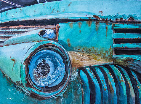Rusty Farm Truck by Vickie Myers