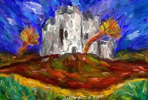 Old Castle by Lazar Caran