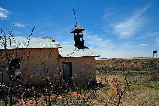 Susanne Van Hulst - Old Chapel on Route 66 in Newkirk NM