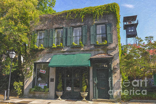 Dale Powell - Old Charleston Gardens on 61 Queen Street