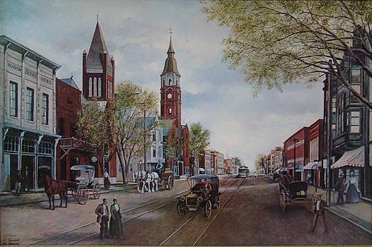 Old Charlotte- Trade and Tryon by Charles Roy Smith