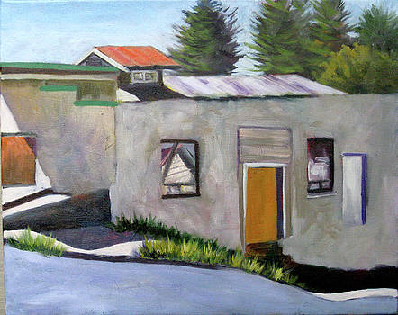 Old Cheese Factory in Tomales by Char Wood