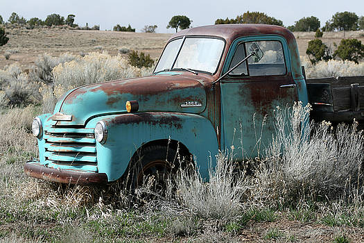 Old Chevy Farm Truck in the Field by CheyAnne Sexton