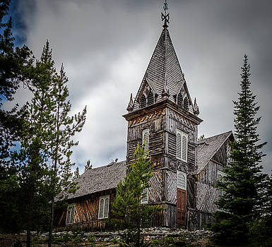 Old Church by Ed Clark