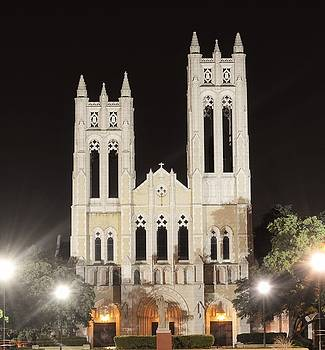 Old Church in Fort Worth Tx by Gabe Aguilar