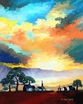 Old Church Road by Donn Kay