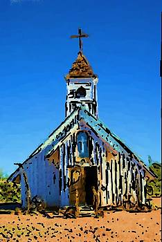 Old church. by Robert Rodda