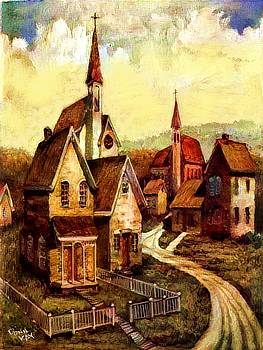 Old Church Street by Donn Kay
