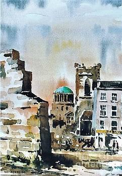 Val Byrne - F 828  Old City Wall, Dublin