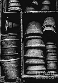 Old Clay Pots by Edward Fielding