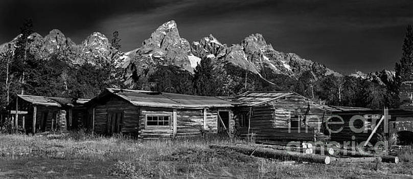 Grand Teton Bar BC Dude Ranch by Thomas Levine
