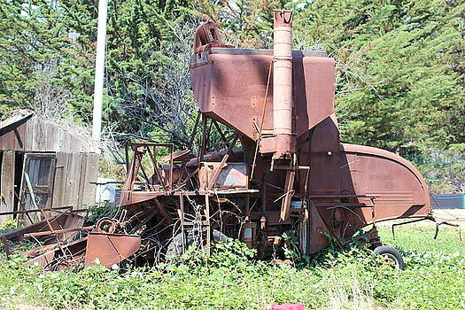 Gary Canant - Old Combine