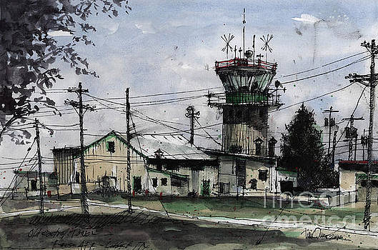 Old Control Tower at Reese AFB by Tim Oliver
