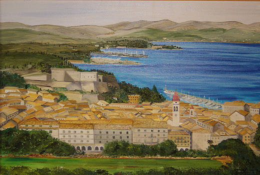 Old Corfu Town and north part of the island  by Anna Witkowska