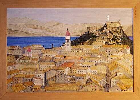 old Corfu Town nr 2 by Anna Witkowska
