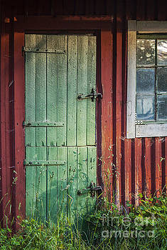 Sophie McAulay - Old cottage door