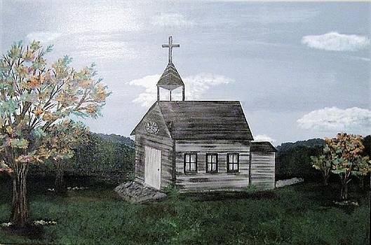 Old Country Church by Shannon Barnes