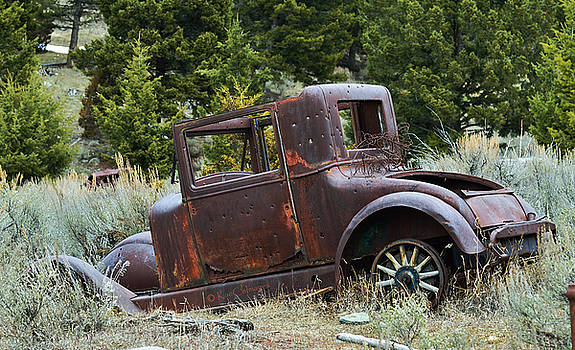 Old Coupe in Bad Condition by Kae Cheatham