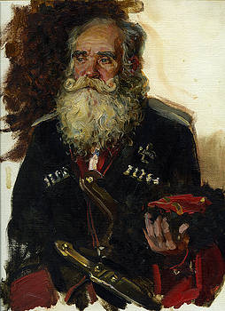 Old coussack by Korobkin Anatoly