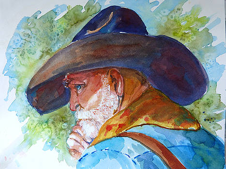 Old Cowboy by P Maure Bausch