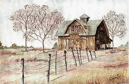 Old Crawford Colorado Barn by Dale Jackson