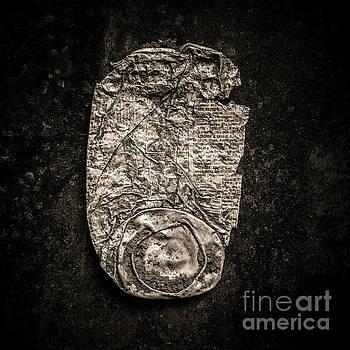 Old crushed can. by Bernard Jaubert