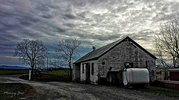 Old Dairy Barn 1 by Manny Jose