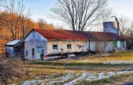 Old Dairy Barn by Jim Harris
