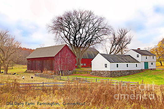 Old Dairy Farm by Marcel  J Goetz  Sr