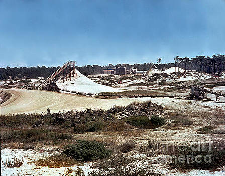 California Views Mr Pat Hathaway Archives - Old Del Monte Sand Plant at Moss Beach Asilomar and Pebble Beach Circa 1960