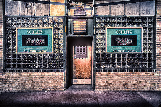 Old Denver Bar Front Door by John Brink