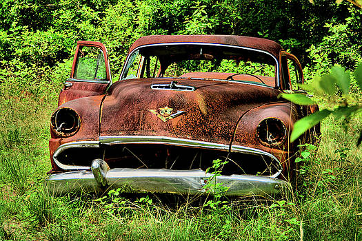 Old Desoto by Ben Prepelka