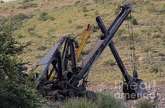 Old Steam shovel by Anthony Jones