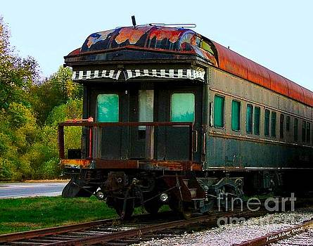 Old Dining Car by Julie Dant