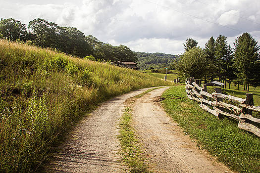 Old Dirt Road by Blue Ridge Mountain Life