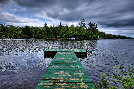 Old Dock at Penwood by David Patterson
