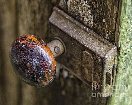 Old Door Knob by JRP Photography