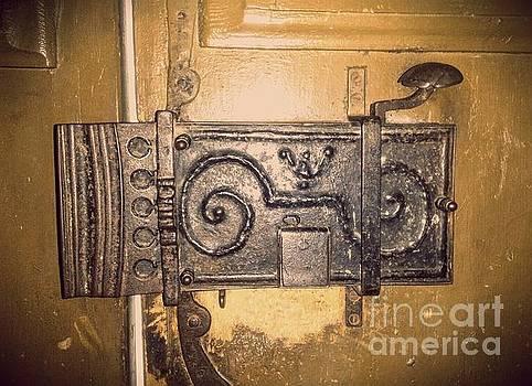 Old Door Lock by Erika H