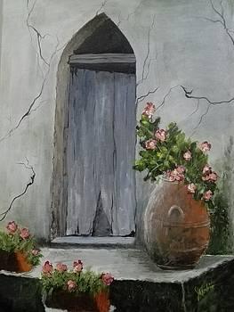 Old Door by Ma Lourdes Sabio
