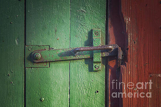 Sophie McAulay - Old door with clasp