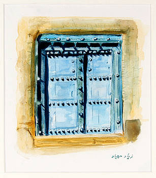 Old Door by Ziyad Mihyar
